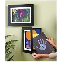 Easy Change Artwork Frame - Black - Fits 9' x 12' Artwork. Frame Measures 14.5' x 11.5' x 1 3/4'