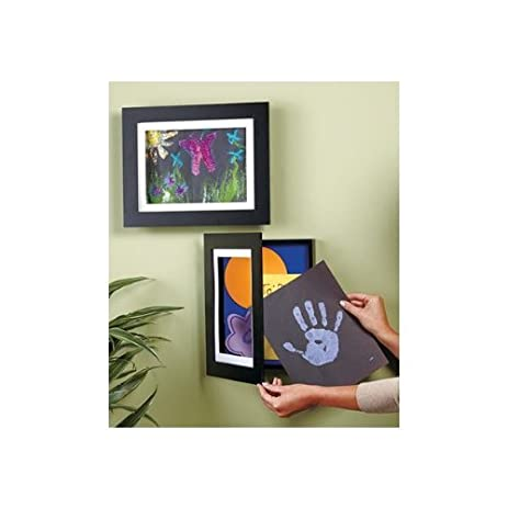 easy change artwork frame black fits 9 x 12 artwork frame - Easy Change Artwork Frames