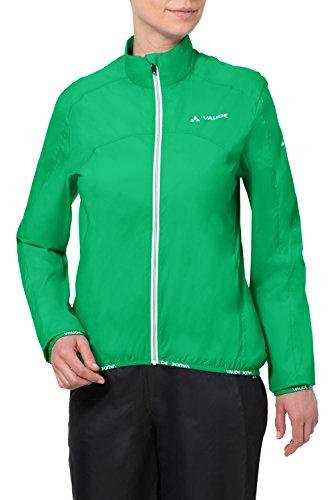 VAUDE - Chaqueta de ciclismo para mujer, tamaño 38 UK verde