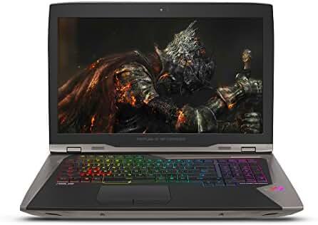 """ASUS ROG GX800VH Liquid-Cooled Gaming Laptop 18.4"""", 4K, G SYNC, Core i7-7820HK, Dual GTX 1080 SLI, 1.5 TB SSD, 64GB, RGB KB"""