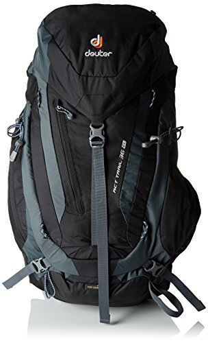 Deuter ACT Trail 30 Hiking Backpack, Black/Granite (Backpack Deuter Mens)