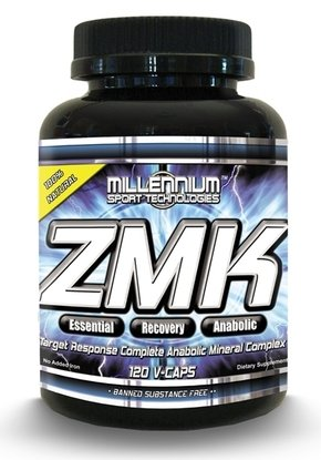 Millennium Sport Technologies ZMK Mineral Complex -- 120 Vegetarian Capsules