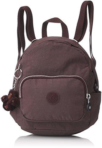 Kipling Mini Backpack, Mochilas para Mujer, 19x21.5x17 cm (W x H x L) Marrón (Campfire Smoke)