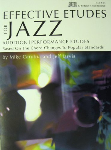 Effective Jazz Etudes for Tenor Saxophone