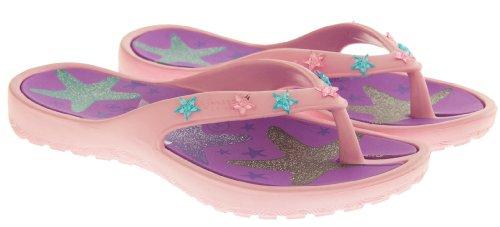 De Fonseca Niñas Chanclas de Verano Sandalias Zapatos de la Playa Estrella De Mar Rosa