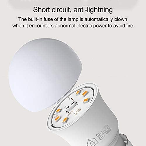 Lights Bulbs E27 5W 6500K White LED Light Bulb