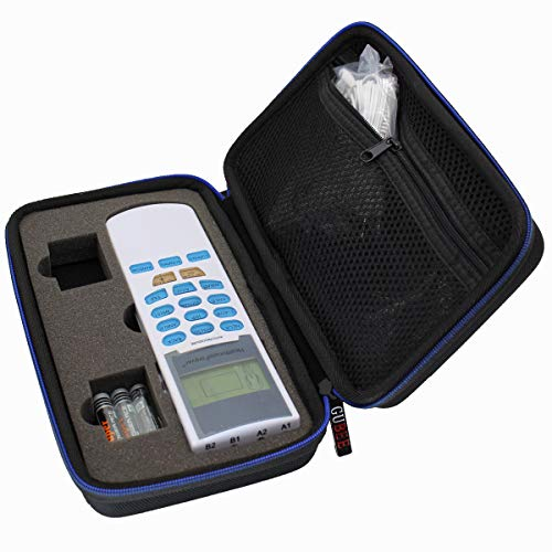 Case for HealthmateForever YK15AB TENS unit Electronic Pulse Massager Tennis Elbow Hard Travel Case by GUBEE