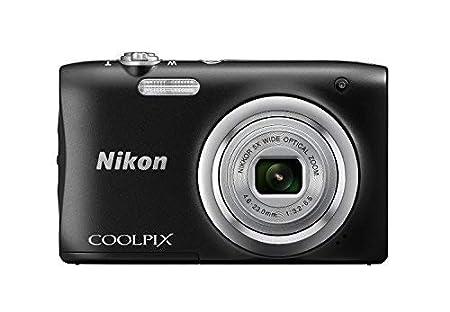 Nikon Coolpix A100 Digital Camera, 20MP, Black Point   Shoot Digital Cameras