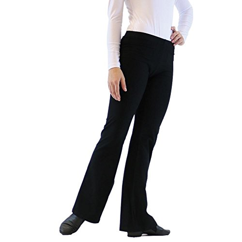 Danzcue Adult Jazz Pants X-Large Black - Mens Jazz Pants