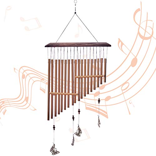 SOMIER Butterfly Harp Wind Chimes Outdoor, 30