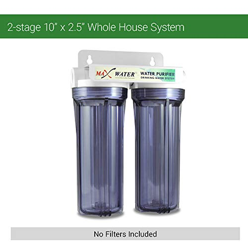 Whole House/Home/Pool/Well Water Filter System 10'' x 2 1/2'', 3/4'' Inlet