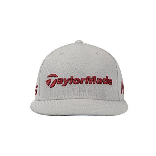 TaylorMade Golf 2018 Men's New Era Tour 9fifty Hat, Grey/burgundy, One - Tour Cap Hat