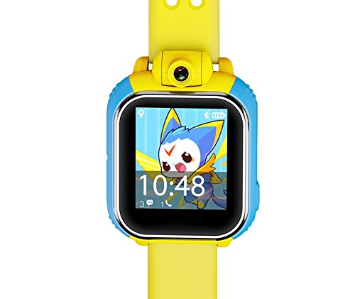 iSTYLE®: New Q730 Kids Wristwatch Support SIM card 3G GPRS GPS Locator Tracker Anti-Lost Smart Watch Children Gifts Watch with Camera WIFI SOS for IOS Android Smartphone (Yellow)