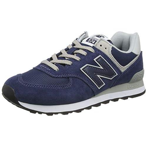 chollos oferta descuentos barato New Balance 574 Core Zapatillas Hombre Azul Blue Navy 43 EU 9 UK