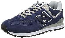 New Balance Hombre 574v2-core Trainers Zapatillas, Azul (Navy), 37 EU