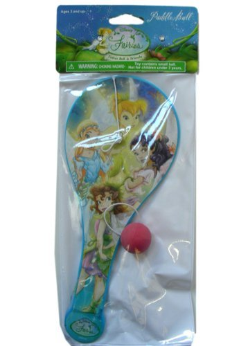 Disney Tinkerbell Tinker Bell Paddle Ball]()