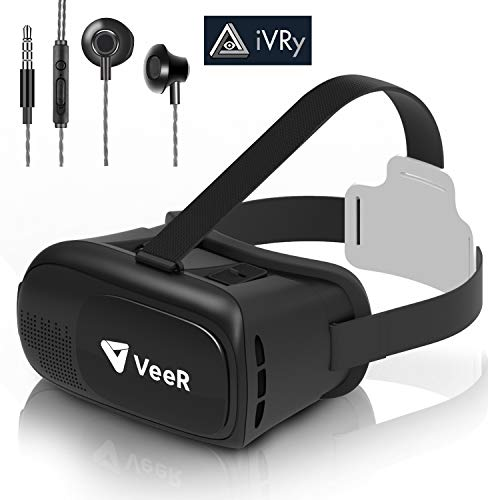VeeR Origin VR Headset, Universal Virtual Reality Goggles Ver2.0 for 360 Movies&Video with Powerful Ivry Games…
