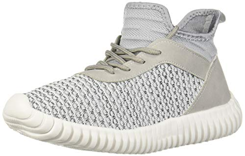 Dirty Laundry by Chinese Laundry Women's Harlen Sneaker White/Black Knit 7 M US