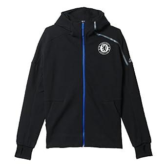 Adidas Hombres Chelsea del Himno UCL Z. N. E. fútbol Chaqueta (Negro): Amazon.es: Deportes y aire libre