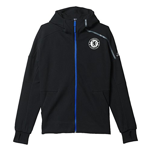 f8bf8543e Amazon.com  adidas Men s Athletics Chelsea FC Anthem Hoodie  AP1551 ...