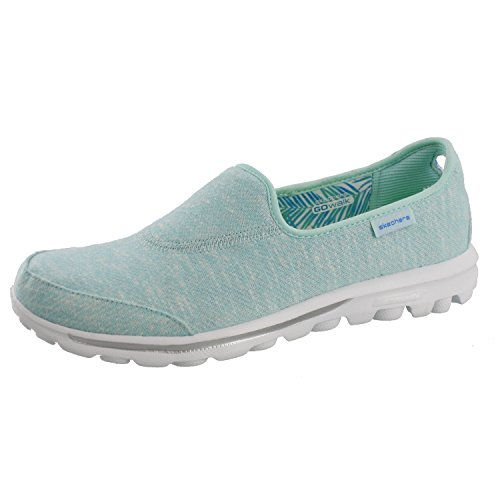 Skechers Women's GOwalk Snapshot,Green,US 8.5 M (Skechers Go Walk With Memory Foam)