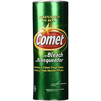Comet Cleanser With Bleach 21oz