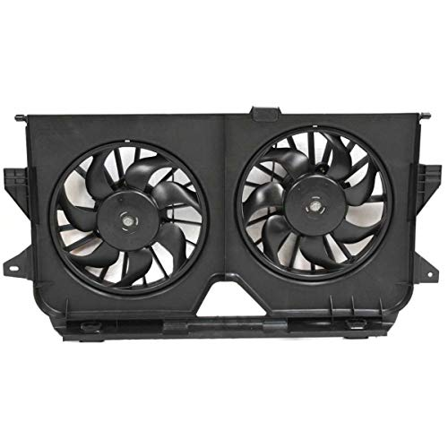 - Radiator Cooling Fan For 05-07 Town & Country/Grand Caravan 3.3L/3.8L Eng