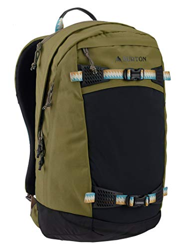 Burton Tactical, Lightweight Day Hiker 28L Backpack for Camping, Travel, Laptop Storage, Martini Olive Triple Ripstop
