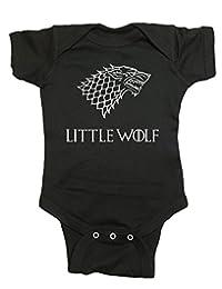 "Game Of Thrones Baby One Piece ""Little Wolf"" Bodysuit"