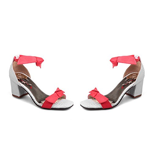 1TO9, Bout Ouvert Femme - Rouge - Red, 36.5