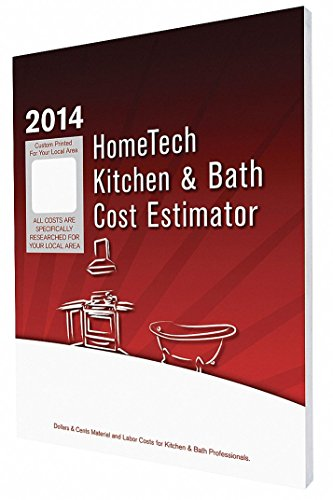 Cost Estimating Book, Kitchen and Bath Remodeling, English, IN, Lafayette and Vicinity, Paperback (Lafayette Bath)