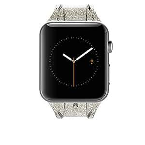 Case-Mate - Apple Watch Band - 38mm - SHEER GLAM - Series 3 Apple Watch Band - Noir