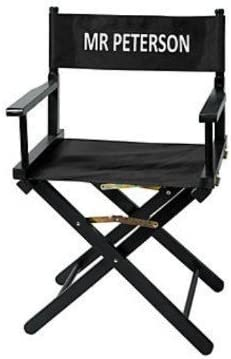 Personalized Directoru0027s Chair Film Play Hollywood Wood with Canvas Seat u0026 Back  sc 1 st  Amazon.com & Directors Chairs | Amazon.com