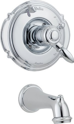 Delta Faucet T17155 Victorian Monitor 17 Series Tub Trim Only, Chrome by DELTA FAUCET