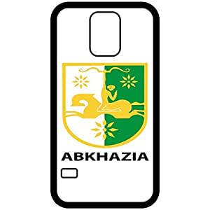 Abkhazia - Coat Of Arms Flag Emblem Black Samsung Galaxy S5 Cell Phone Case - Cover