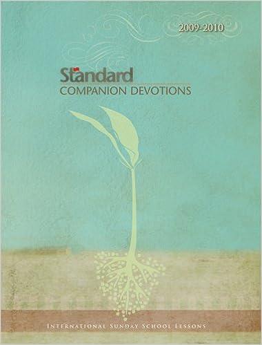 Standard Companion Devotions International Sunday School Lessons