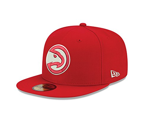 NBA Atlanta Hawks Classic Wool Fitted 59FIFTY Cap, 7.625, Red (Atlanta Hawks Fitted Cap)