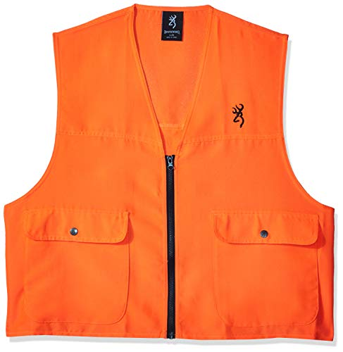 Browning, Safety Blaze Overlay Vest, Blaze, Large (Best Orange Hunting Vest)