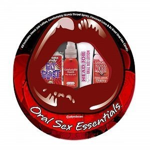 Oral Sex Essentials Kit (Package Of 6) Half Case by Oral Sex Essentials