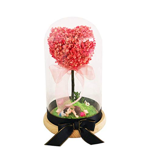 ALWUD Enchanted Rose, Preserved Flower Preserved Real Rose Handmade Eternal Life Flowers Gift Box Gifts for Women/Mom/Girlfriend,A (Life After Being A Stay At Home Mom)