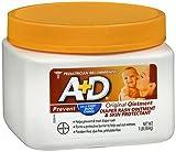 A+D Diaper Rash Ointment & Skin Protectant Original - 16 oz, Pack of 4
