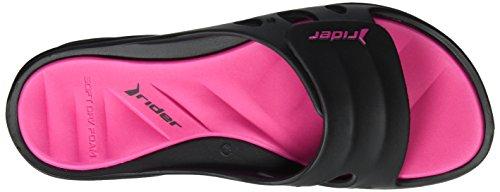 Rider Rider Key Ix Fem - Sandalias Mujer Mehrfarbig (black/pink)