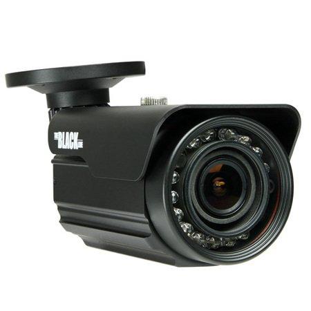 BLACK 700 TVL 960H D-WDR 65 ft IR Varifocal Bullet Security