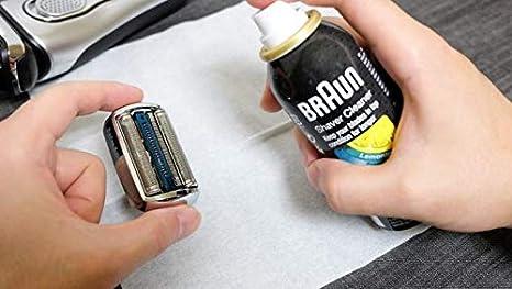 2x Braun Spray de Limpieza para Máquina de Afeitar - Braun Shaver ...