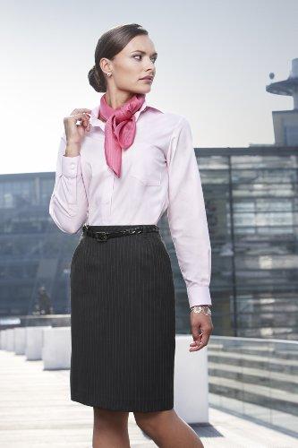 GREIFF Damen-Rock Business-Rock PREMIUM regular fit - Style 1542, Farbe: Anthrazit/Nadelstreifen, Größe: 46