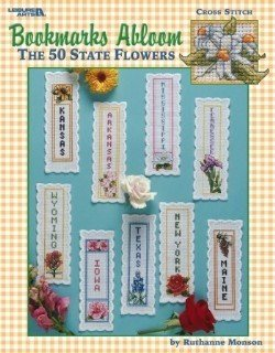 Bookmarks Abloom - Cross Stitch Pattern