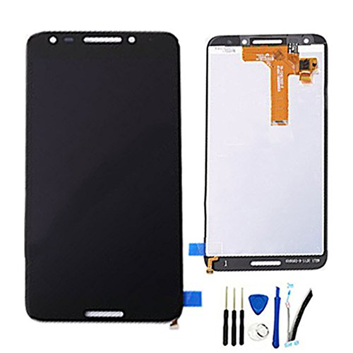 LCD Display Screen digitizer Touch Glass Assembly for Alcatel A30 Fierce 5049W 5049Z Revvl T-Mobile 5.5 Replacement Black