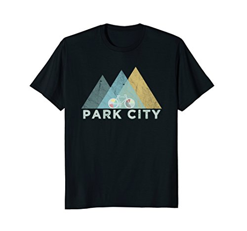 Retro Park City Vintage Bike - Utah Bicycle T-Shirt