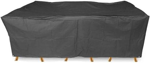 QTCWRL Protección contra El Polvo Cubre Los Muebles, Muebles De Jardín Cubre Pesada Protector Solar UV Transpirable Bolsa De Tela Oxford Impermeable Cúbico Equipo a Prueba de Polvo: Amazon.es: Hogar