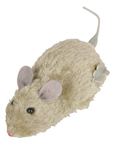 Rhode Island Novelty Grey Windup Wind Up Prank Animal Lab Mouse Rat Toy Decoration